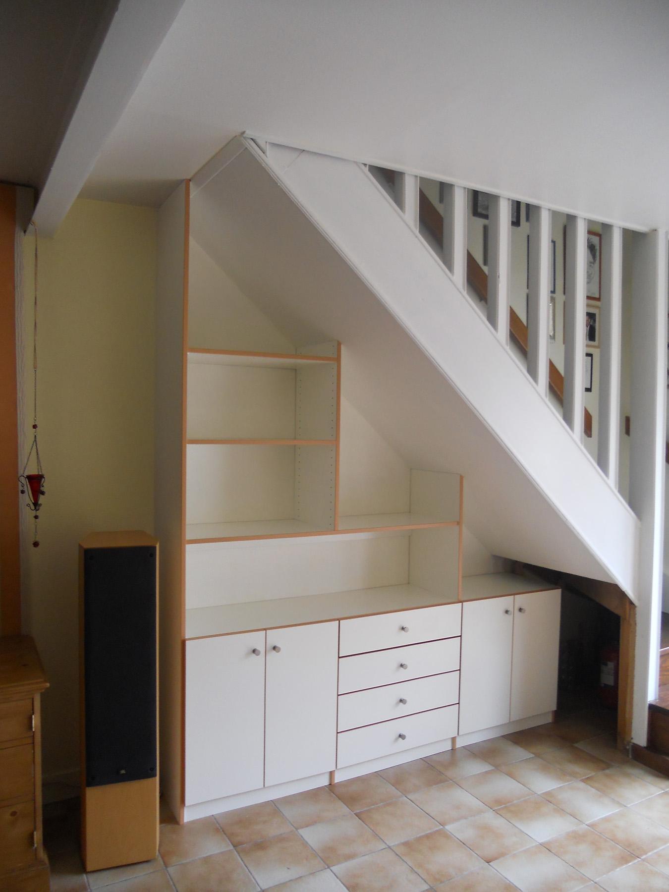 sous pentes sur mesure espace placard. Black Bedroom Furniture Sets. Home Design Ideas