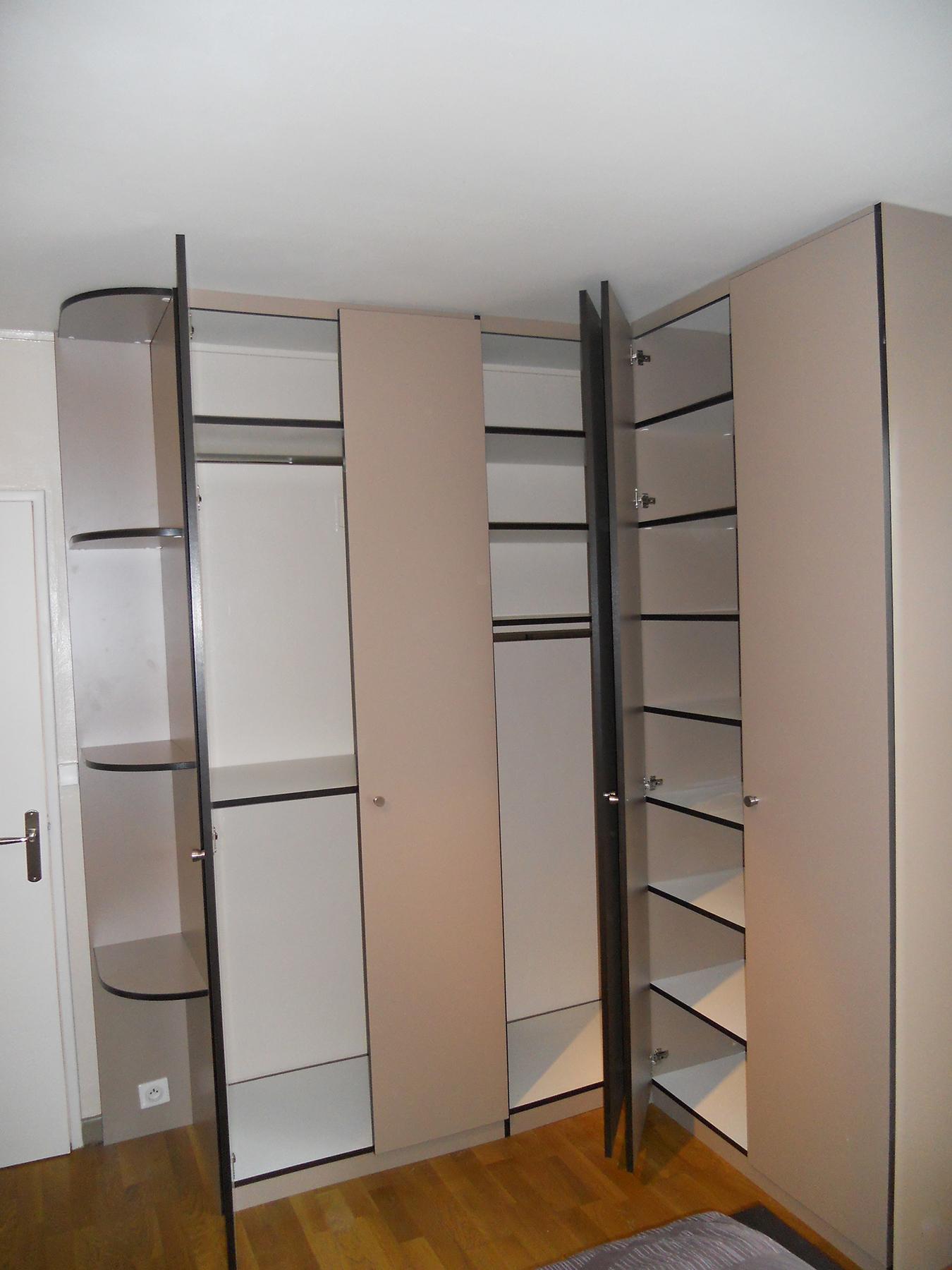 dressing sur mesure espace placard. Black Bedroom Furniture Sets. Home Design Ideas